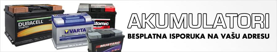 Akumulatori - Varta, Proatomic, Duracel, Mustang - besplatna isporuka za naručenu vrednost preko 3000 dinara.