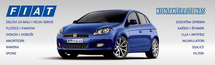 Delovi za mali i veliki servis Fiat automobili