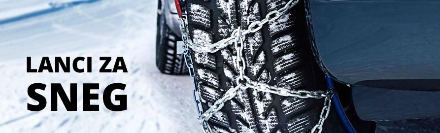 Lanci za sneg za sve dimenzije pneumatika