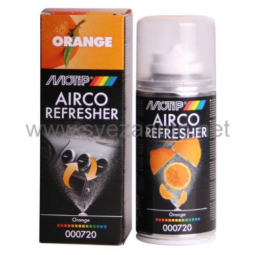 Čistač i osveživač autoklime Airco refresher oranž 150ml 000720