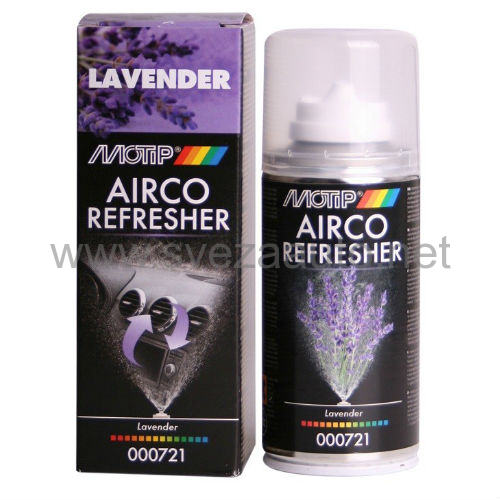 Čistač i osveživač autoklime Airco refresher lavanda 150ml 000721