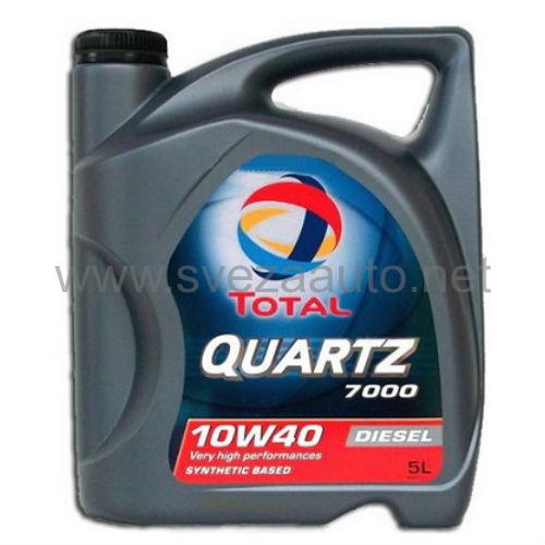 Ulje Total Quartz 7000 Diesel 10W-40 5L