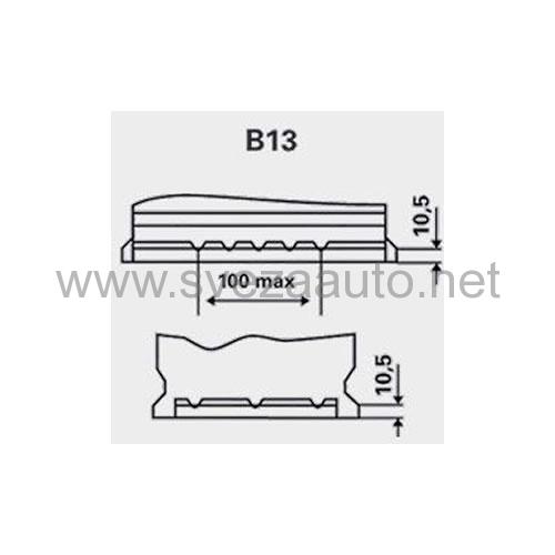Akumulator Varta 12V 44Ah D+ Blue Dynamic B36 544401042