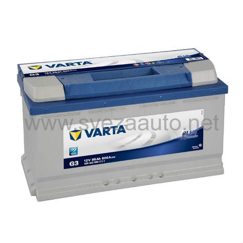 Varta 12V 95Ah D+ Akumulator G3 Blue Dynamic