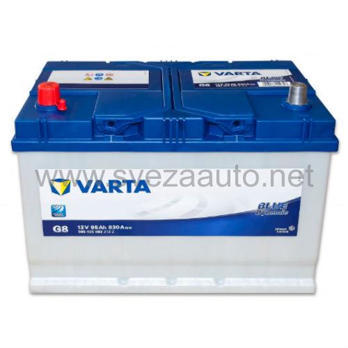Varta 12V 95Ah L+ Akumulator G8 Blue Dynamic