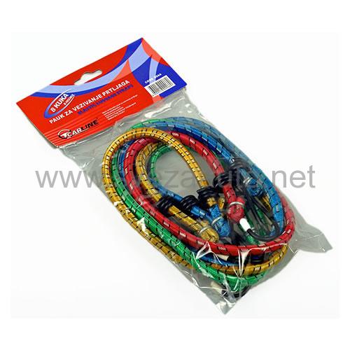 Pauk elastični za vezivanje prtljaga - 8 kuka 700066