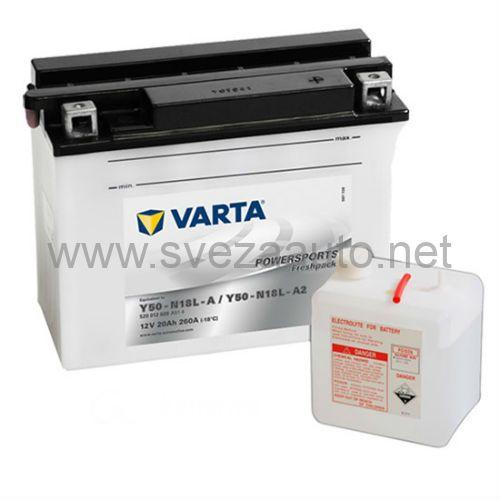 Varta 12V 20Ah D+ Akumulator Freshpack
