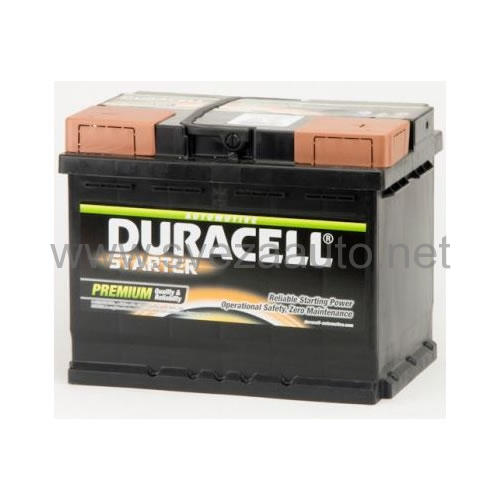 Duracell 12V 45Ah D+ Akumulator DS 45 Starter