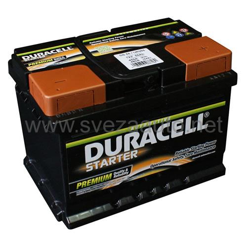 Duracell 12V 55Ah D+ Akumulator DS 55 Starter