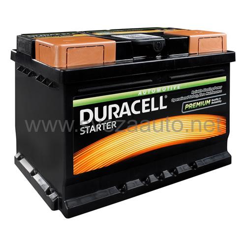 Duracell 12V 60Ah D+ Akumulator DS 60 Starter