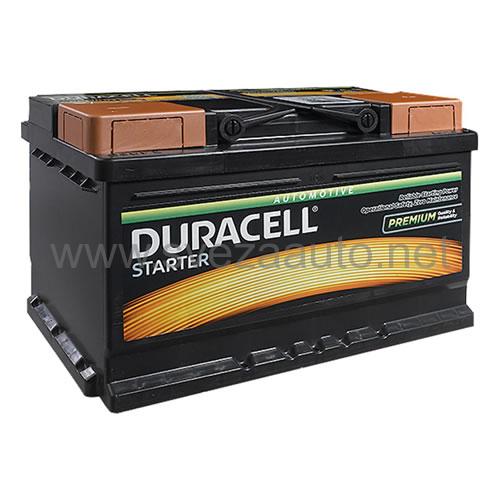 Duracell 12V 70Ah D+ Akumulator DS 70 Starter