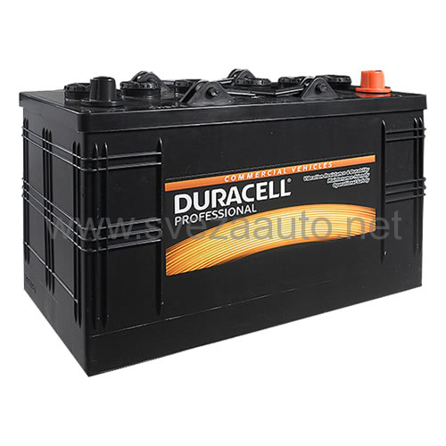 Duracell 12V 110 Ah L+ Akumulator DP 110L Profesional
