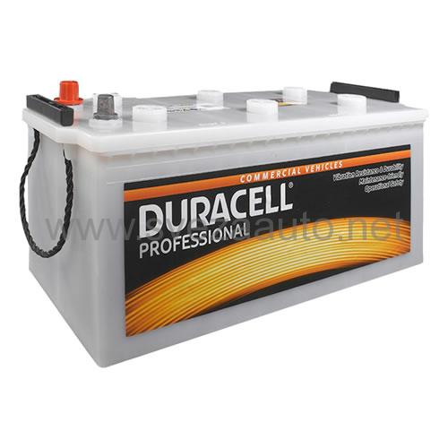 Duracell 12V 225 Ah L+ Akumulator DP 225 Professional