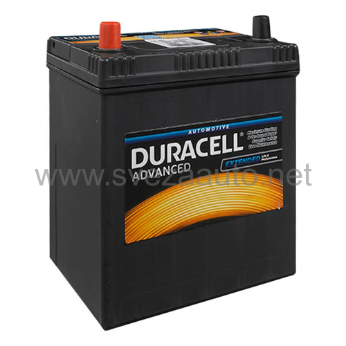 Duracell 12V 40Ah L+ Akumulator DA 40L Advanced