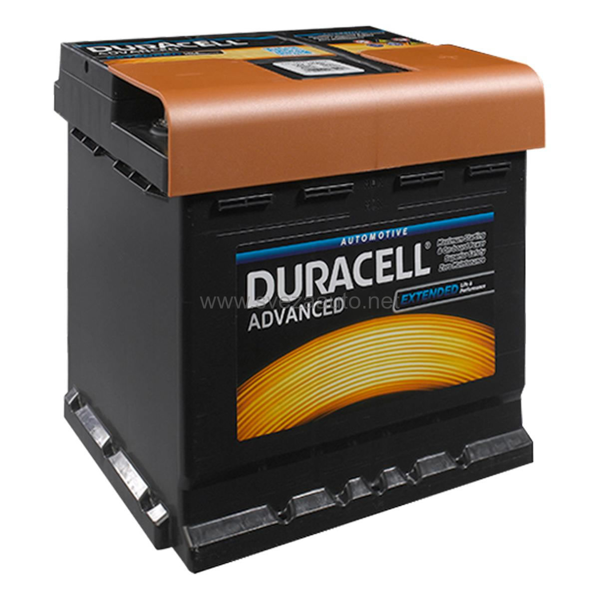 Duracell 12V 44Ah D+ Akumulator DA 44 Advanced
