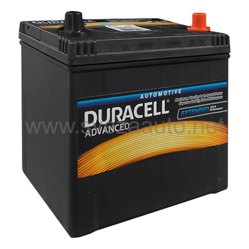 Duracell 12V 45Ah D+ Akumulator DA 45 Advanced