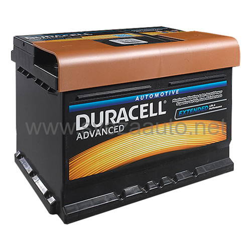 Duracell 12V 60Ah D+ Akumulator DA 60T Advanced