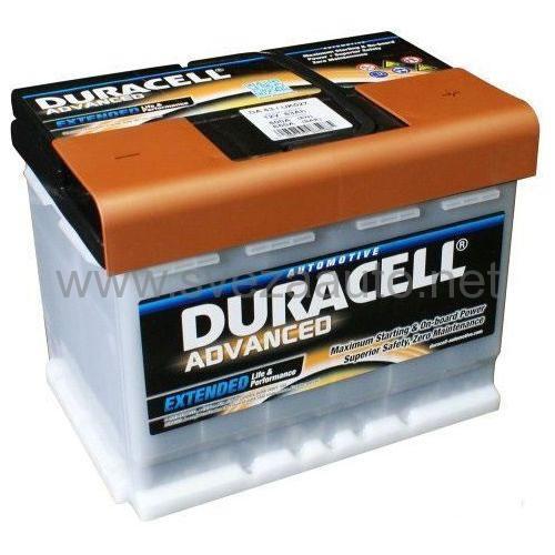 Duracell 12V 63Ah D+ Akumulator DA 63H Advanced