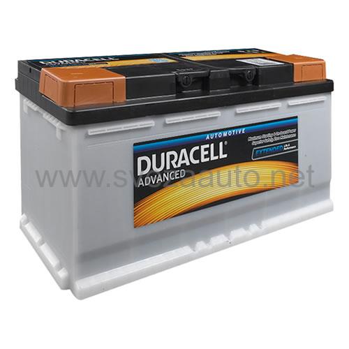 Duracell 12V 110Ah D+ Akumulator DA 110 Advanced