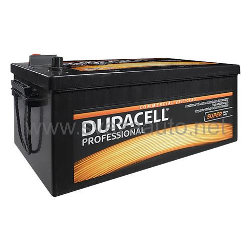 Duracell 12V 225 Ah L+ Akumulator DP 225SHD Professional