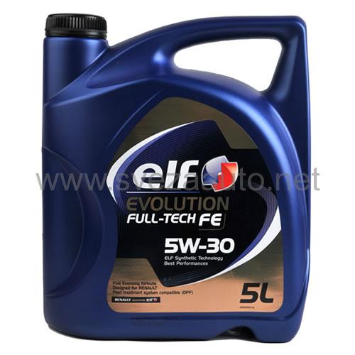 Ulje Elf Evolution Fulltech Fe 5w30 5L