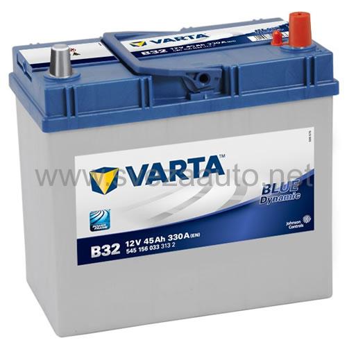 Varta 12V 45Ah D+ Akumulator B32 Blue Dynamic