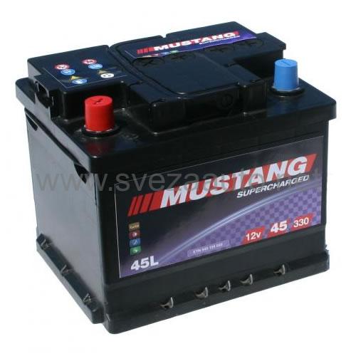 Mustang 12V 45Ah L+ Akumulator MS45-L1X