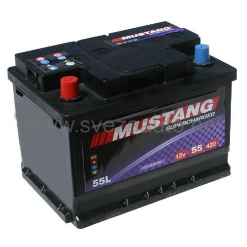 Mustang 12V 55Ah L+ Akumulator MS55-L2X