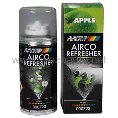Čistač i osveživač autoklime Airco refresher jabuka 150ml 000723