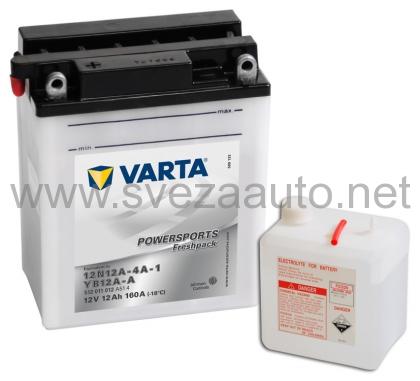 Varta 12v12Ah L+ Akumulator YT12B-BS