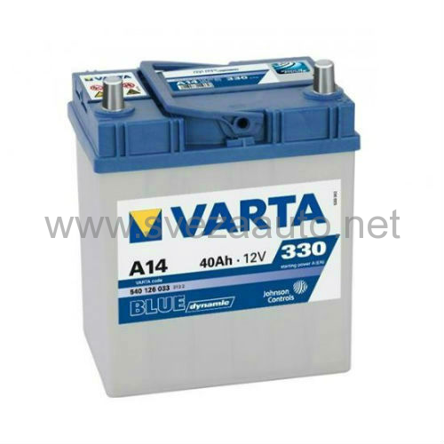 Varta 12V 40Ah D+ Akumulator A14 540126033 Blue Dynamic